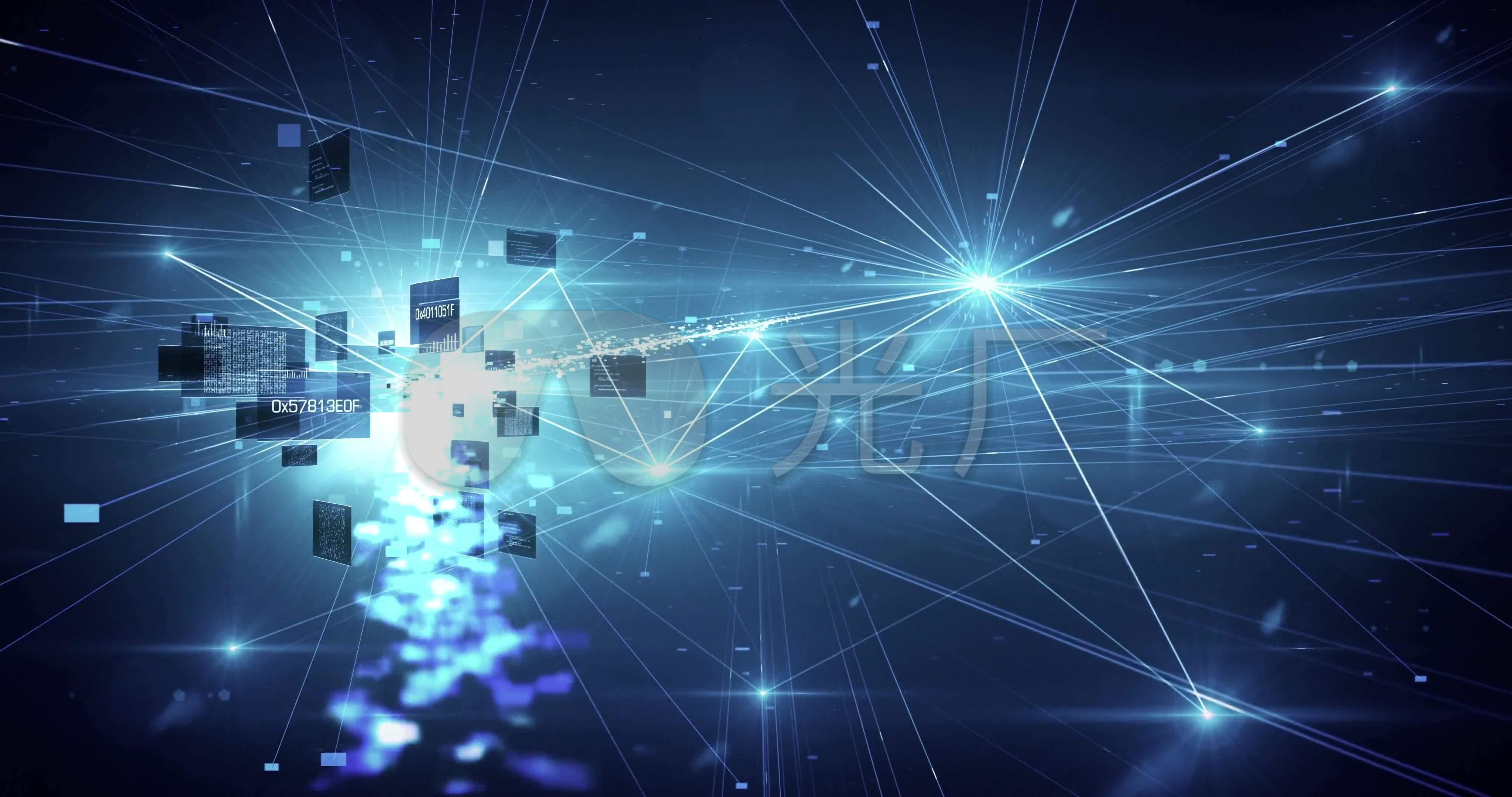 云计算神经网络数据处理_4096X2160_高清视