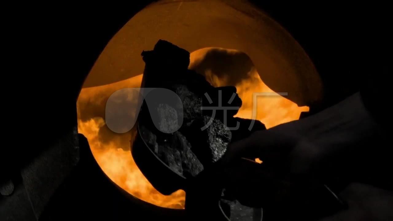 煤炭时代视频锅炉-烧蒸汽火车素材_1280X720塑视频炼图片