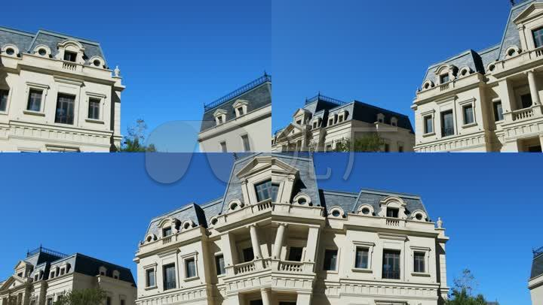 商业街区欧式建筑仿欧建筑欧式酒店欧式别墅欧洲风格小楼 【声明】vj