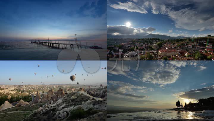 土耳其高清风景延时