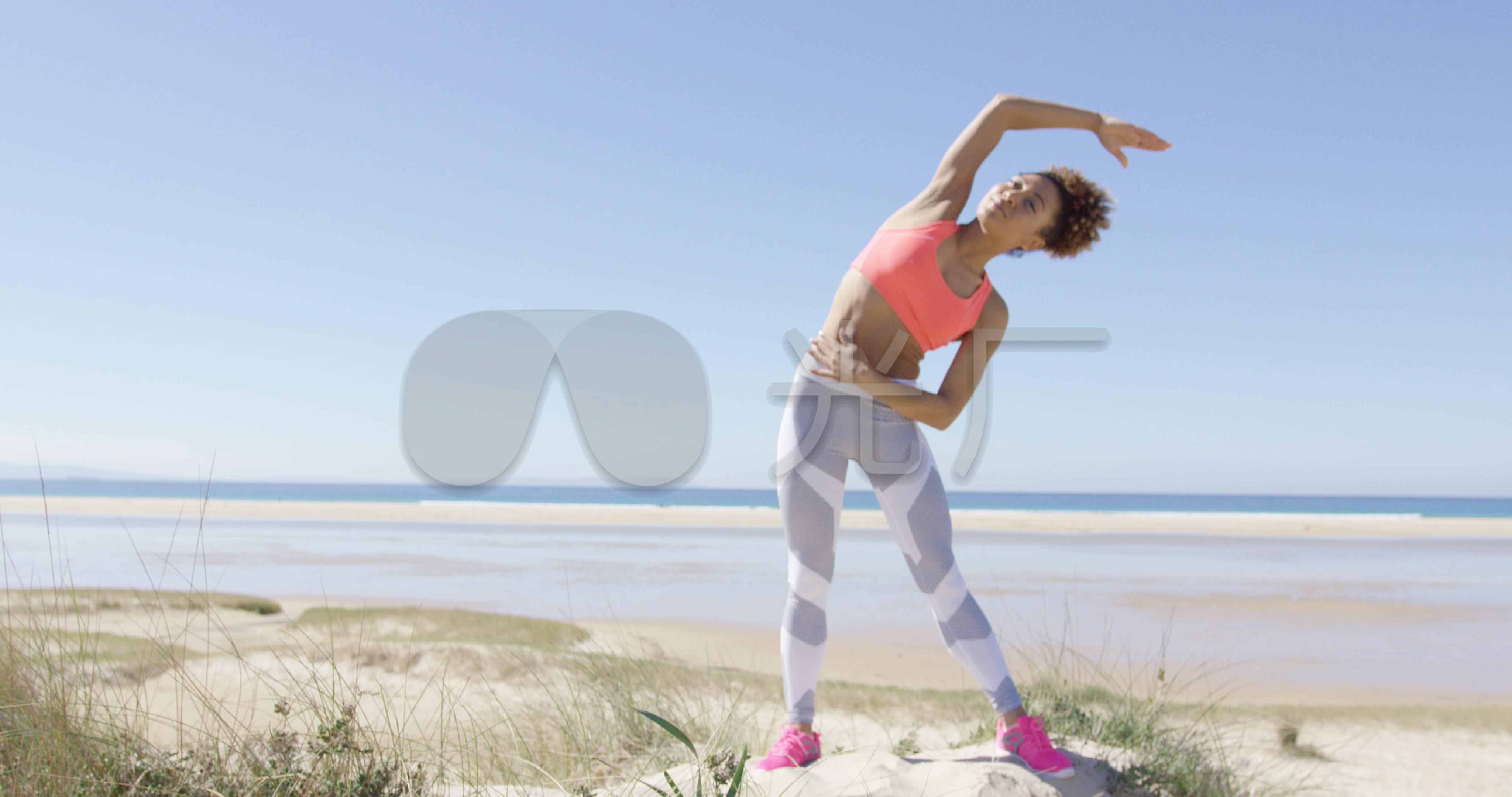 户外瑜伽养生减肥健身_4096x2160_高清视频瘦脸针导致牙出血图片