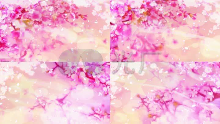 红梅赞视频红旗花瓣飞舞视频_1280X720_高清东京城市歌曲图片