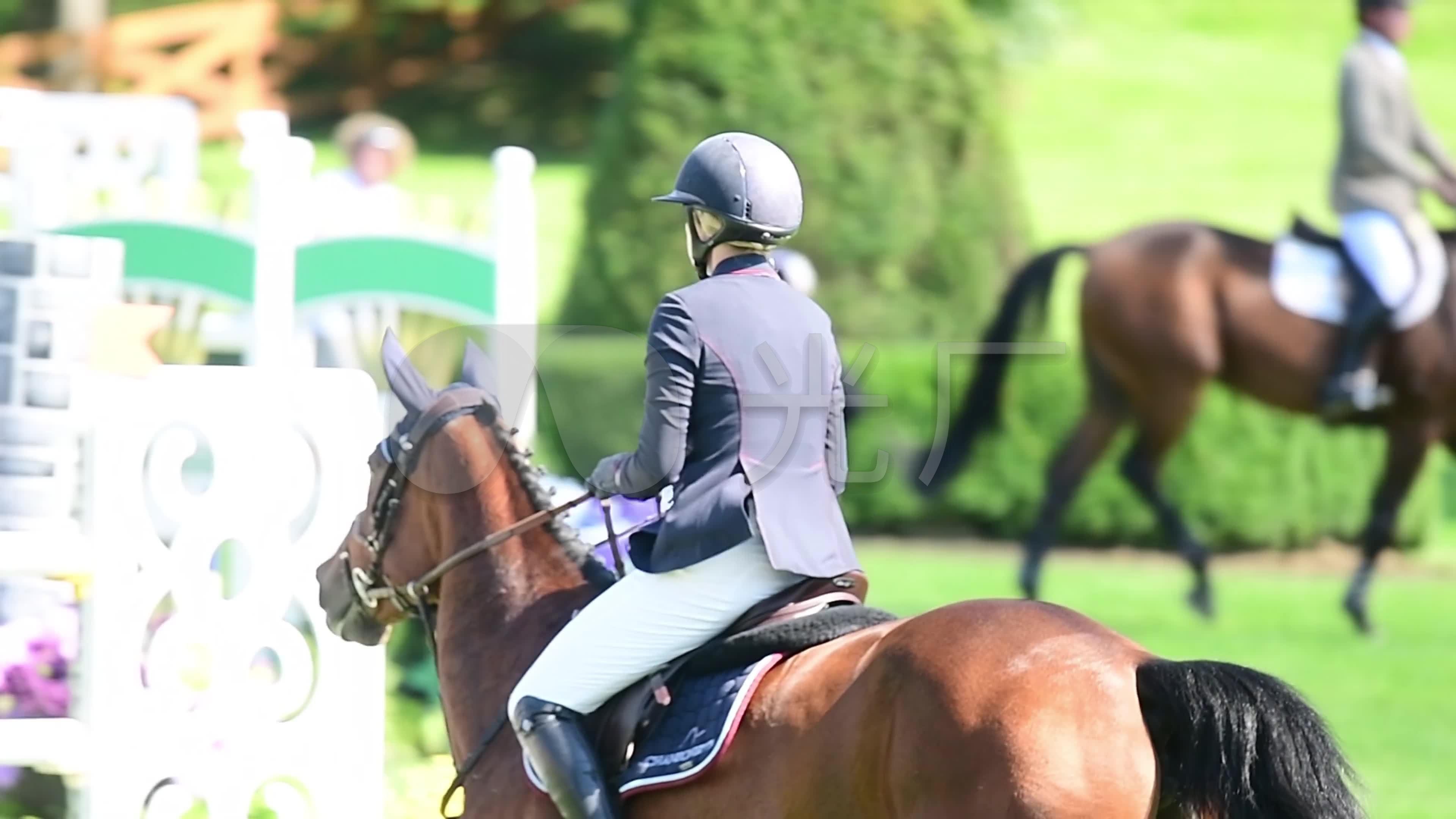 骑师结论骑马骑手骏马原理体育运动_3840X2热气球马术v骑师赛场图片