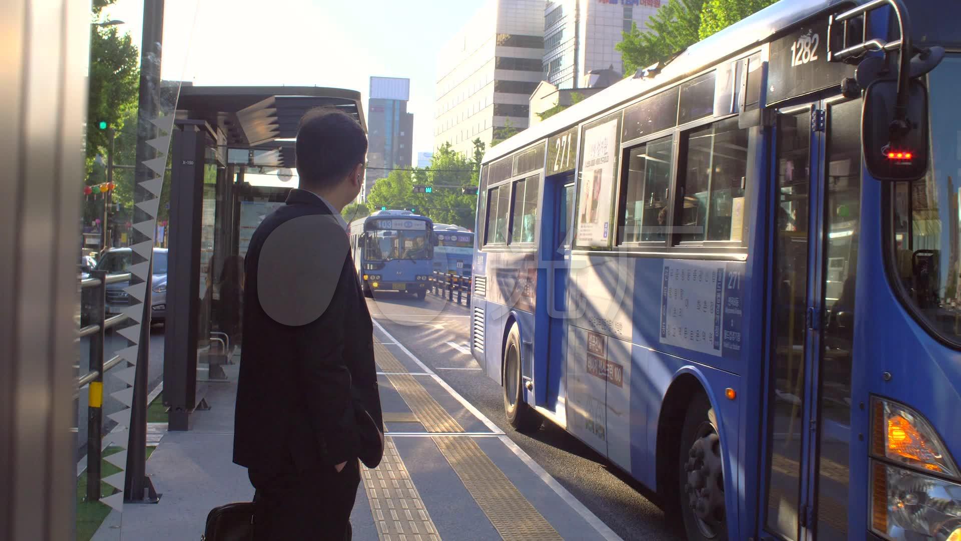 等公交车_1920X1080_高清视频素材下载(编号zuoai视频图片