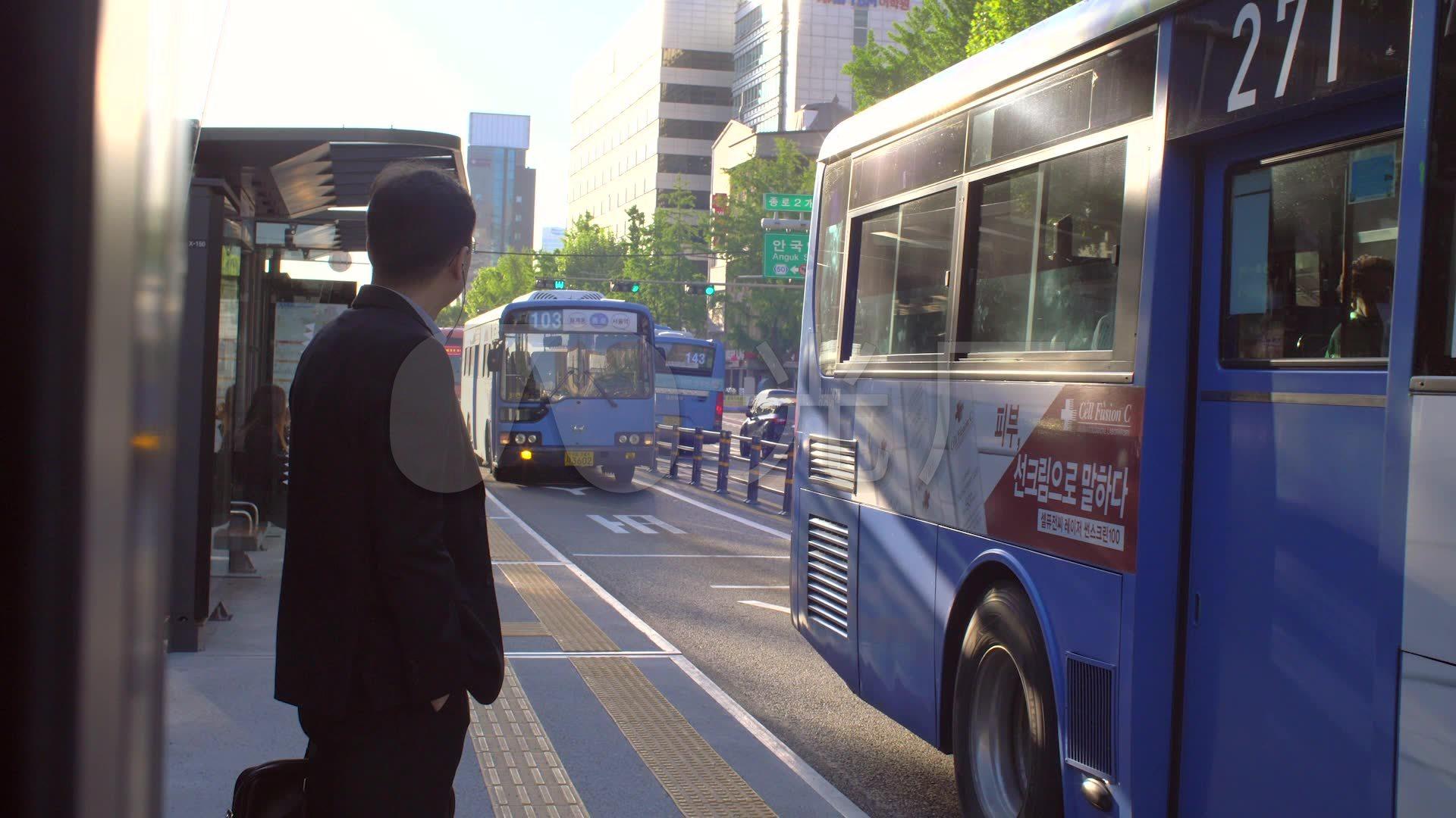 等公交车_1920X1080_视频火车素材下载(编号高清视频手工图片
