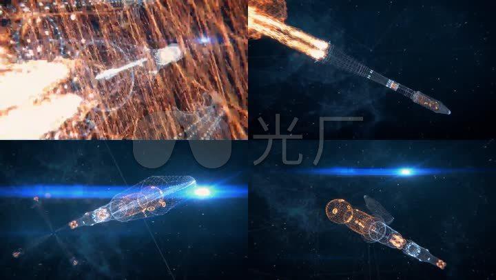 发射宇宙飞船宇宙飞船升空太空飞船发射太空飞船航天航天发射航天素材
