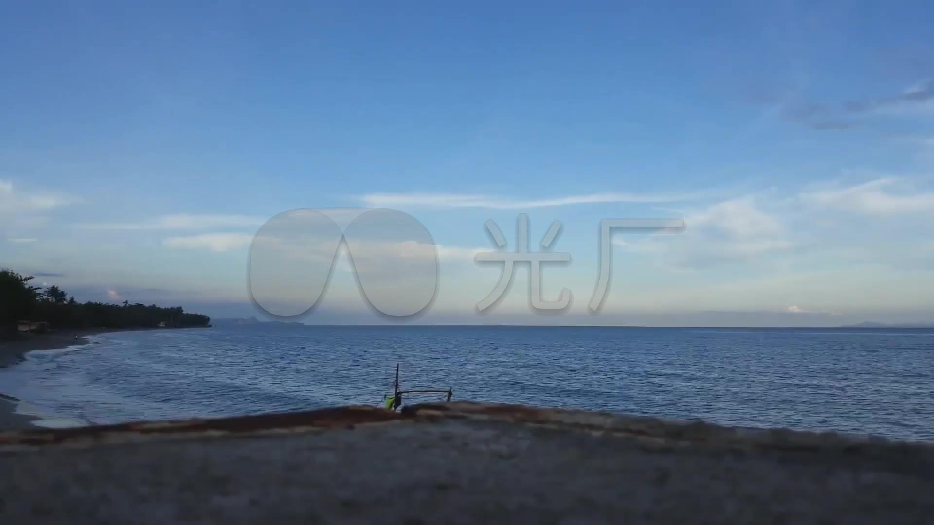 大连海港海滨素材_1920X1080_视频城市高清视频的诚实守信图片