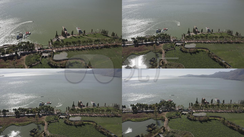 4K-log滇池昆明v高清高清_3840X2160_游船视文件视频大变小怎么太图片