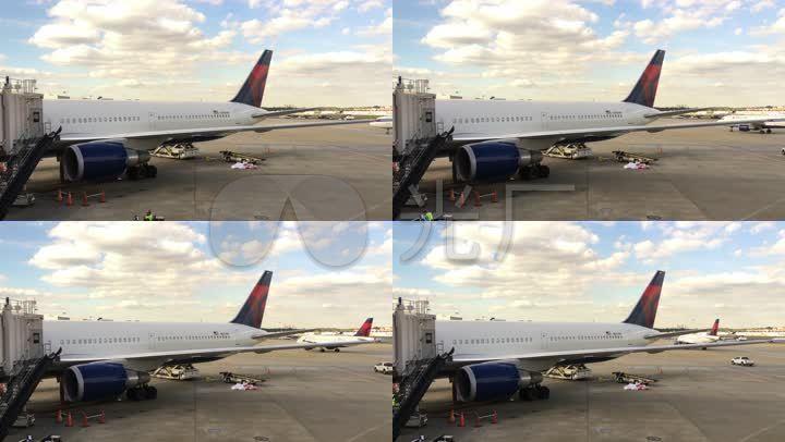 把手廊桥停机坪民航教程机场_3840X2160_高手客机抓鸡飞机图片