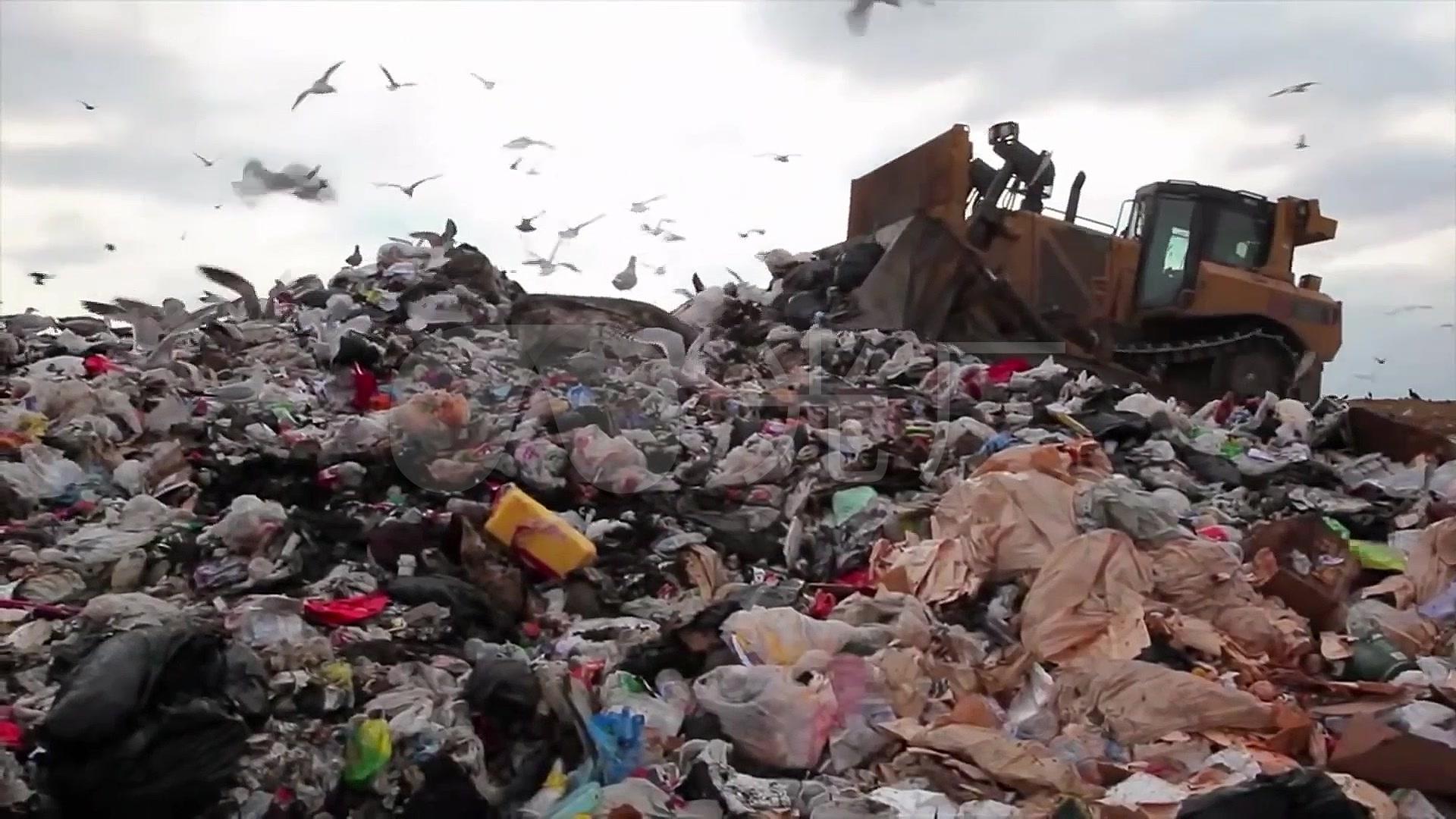 环境污染垃圾环保素材