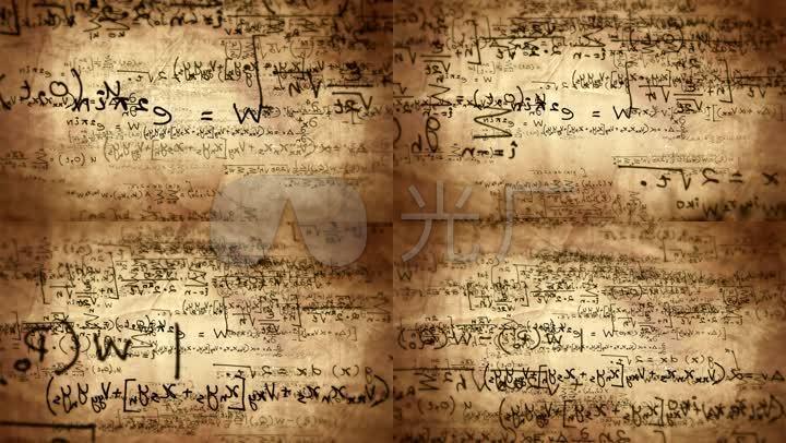 数学公式_1920x1080_高清视频素材下载(编号:3201044)图片