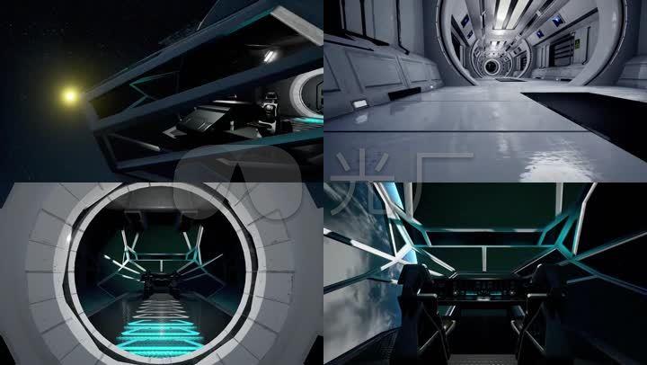 三维飞船三维宇宙飞船飞船结构太阳系