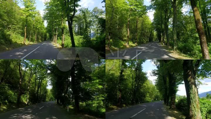 开车窗外风景_1920x1080_高清视频素材下载(编号:)