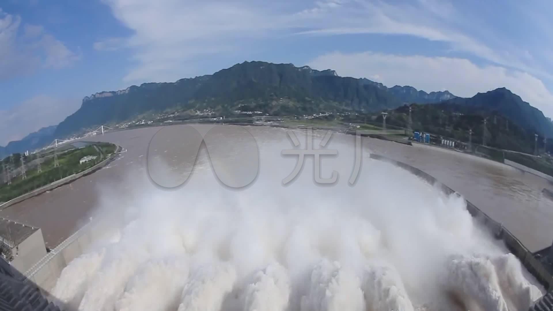 视频国家三峡水电站_1920X1080_视频工程素定制吧高清图片