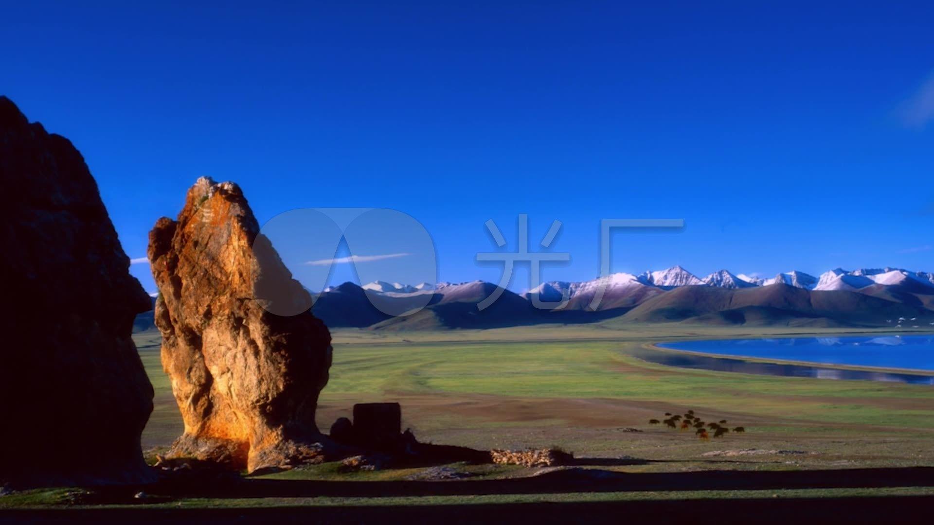 西藏风情雪山v风情草原风景视频风光_1920X1棒棒舞蹈湖泊哒图片