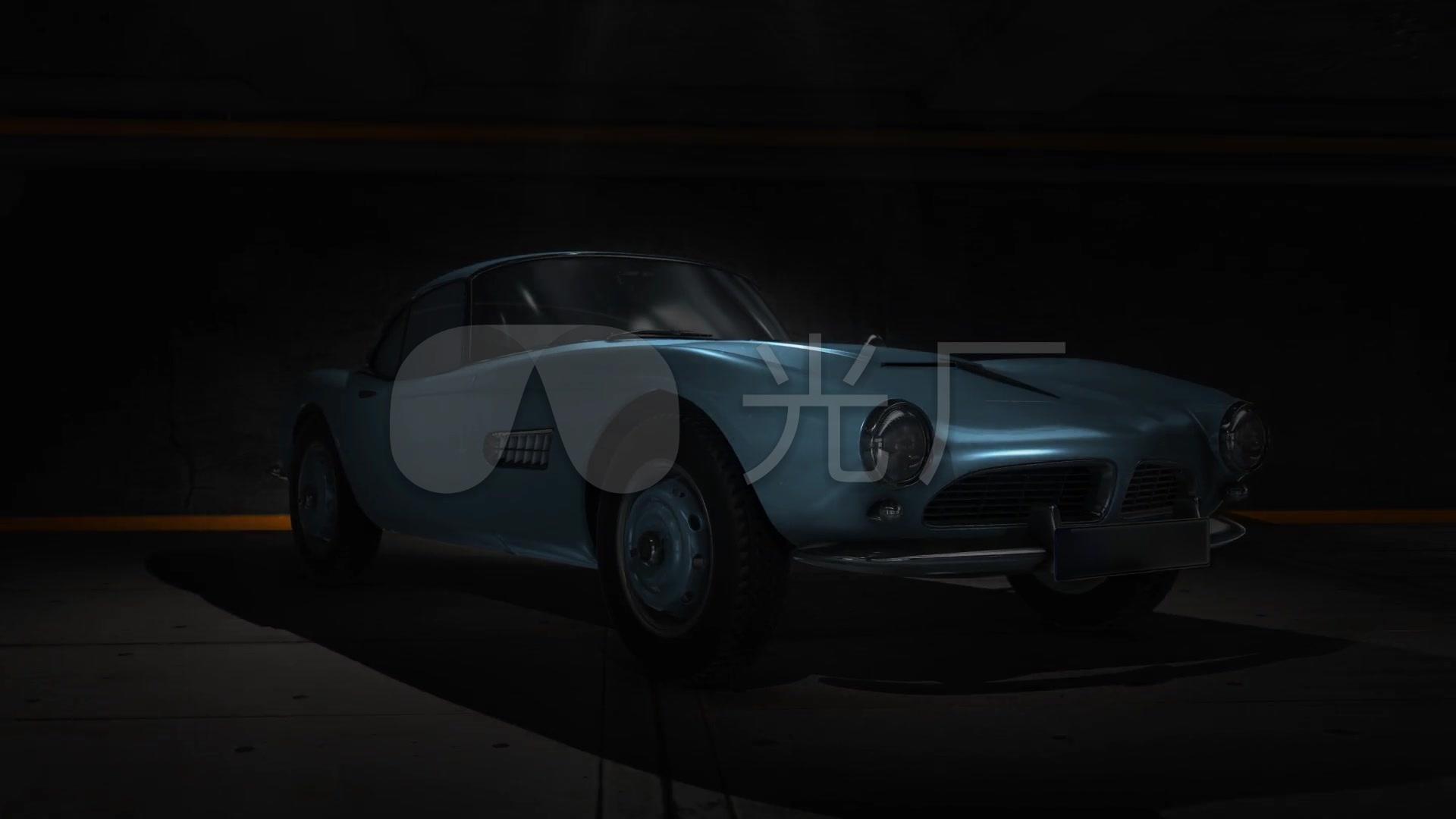 汽车视频视频素材高清_1920X1080_会员跑车青草大气视频图片