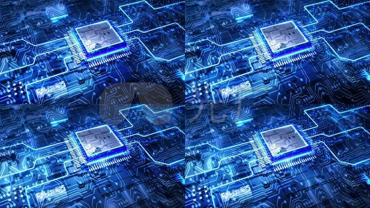 电路板电流5g互联网科技大数据高科技云计算芯片智慧城市物联网互联