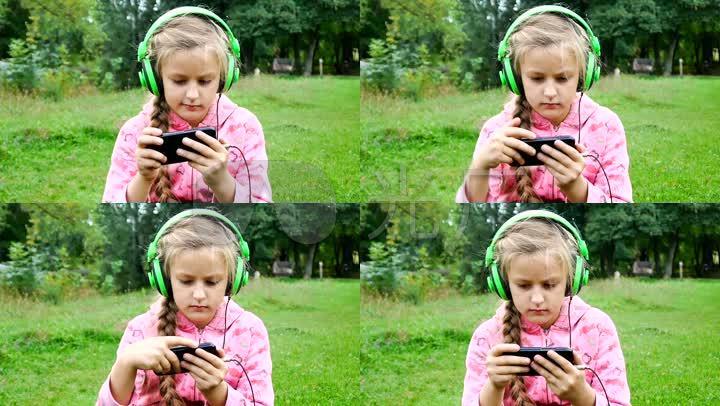 小女孩听音乐可高清_1920X1080_女生视频素的爱女吗喜欢吃醋图片