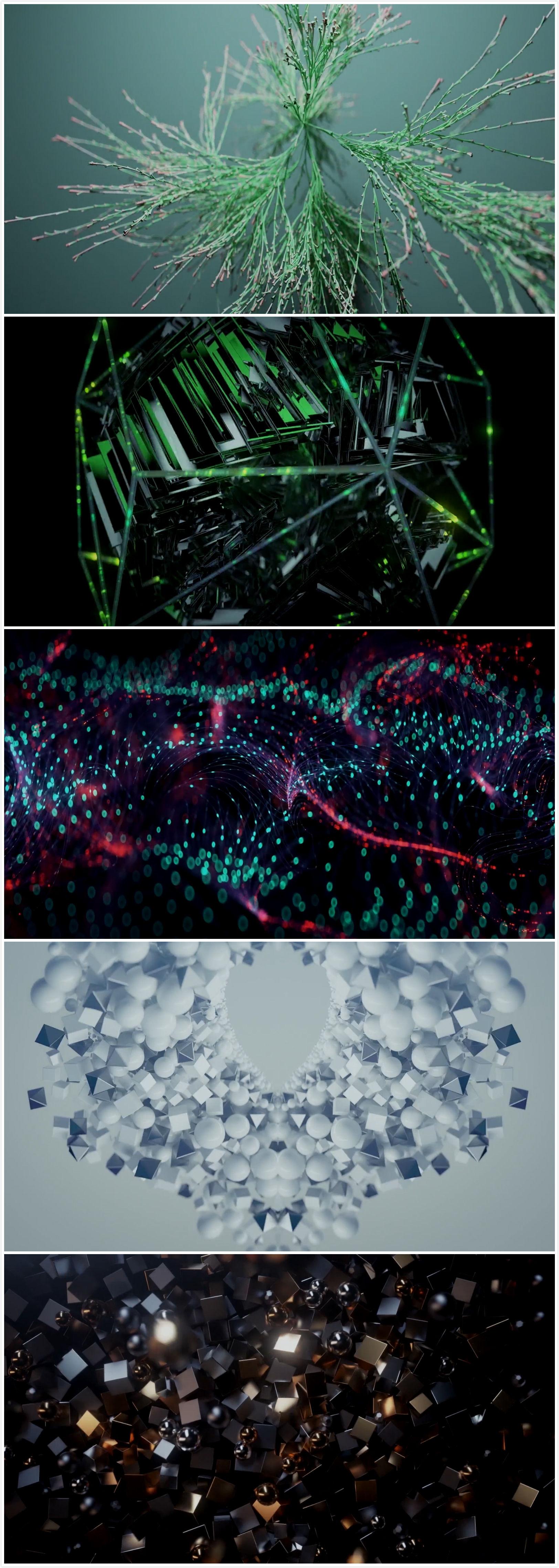 抽象创意镜头视频素材
