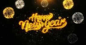 新年快乐视频素材