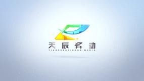 科技简洁明亮logo7AE模板