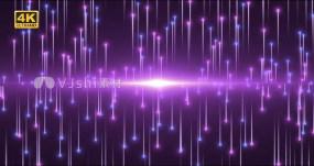 4K粒子镜像生长无缝循环AE模板
