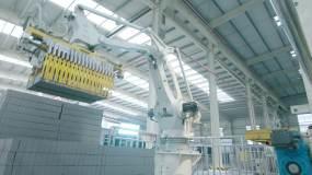 4klog生产车间设备现代工业视频素材