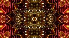 霓虹灯框架视频素材