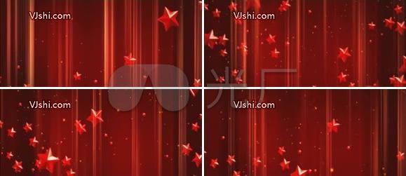 红红中国心 五角星