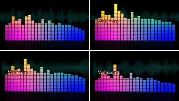 3D音符频谱