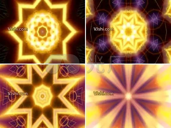 几何 花筒