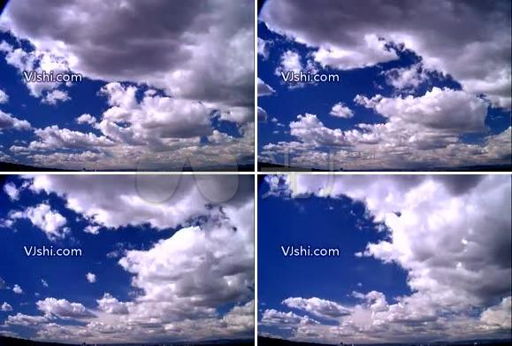 白云 蓝天 天空 云彩