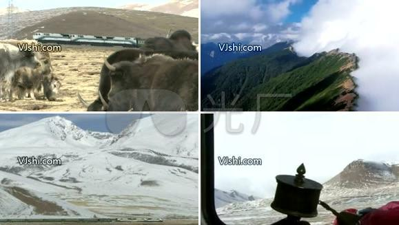 青藏高原[高清] 西藏 天路 铁路