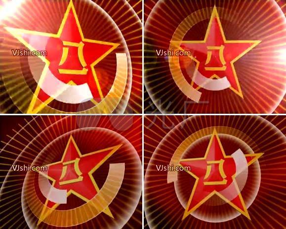 八一建军节 红星 五角星