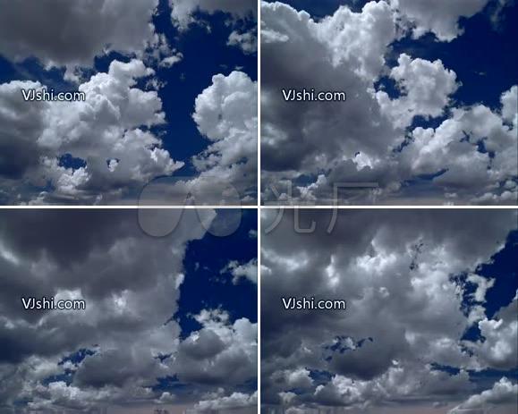 白云 云彩 天空 云朵