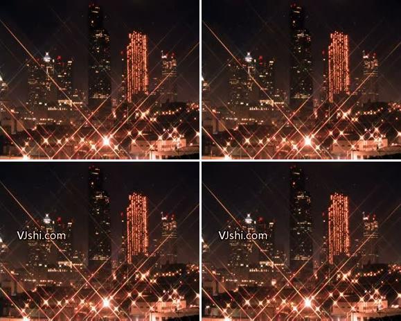 夜景 城市 灯火辉煌