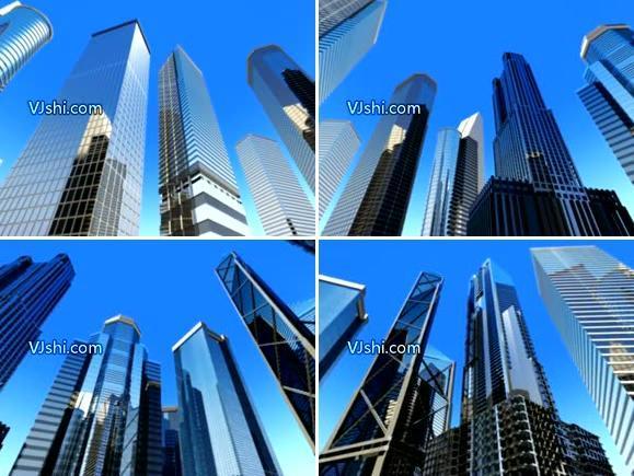 数字城市 高楼大厦
