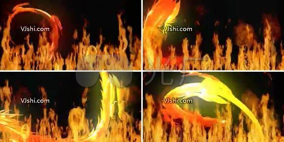 火焰龙 中国龙