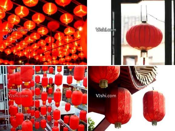 红灯笼 祝福 喜庆
