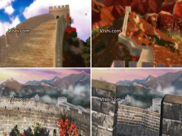3D素材 长城 烽火台