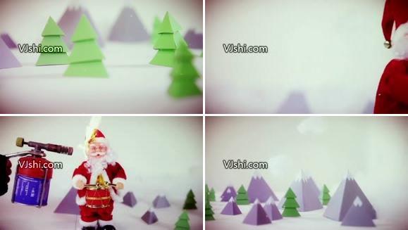 2012年圣诞节国外最新VJ素材~