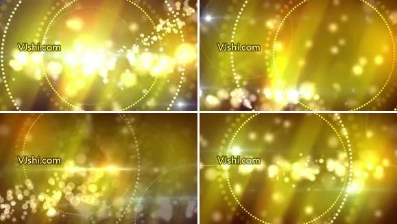 粒子金光背景