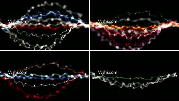 粒子线条节奏5
