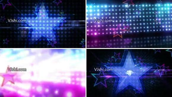 晚会演唱会开场LED背景