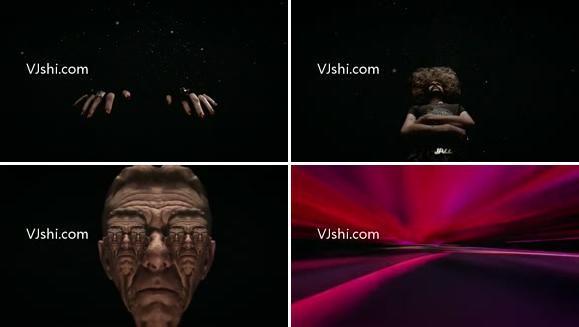 抽象宇宙空间