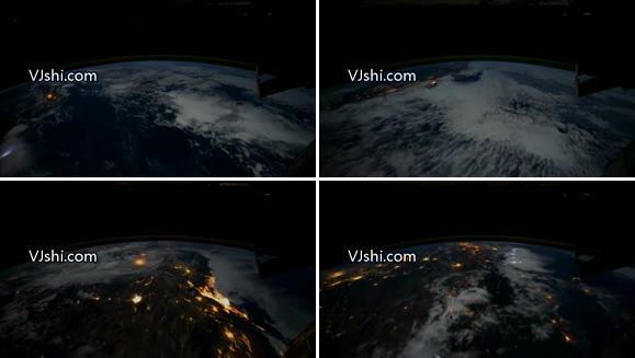 卫星下的地球,可好看了