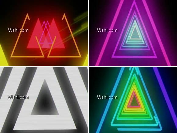 3D彩色线条图形