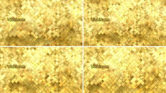 金色方块背景