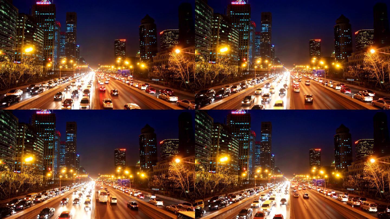 高清城市夜景