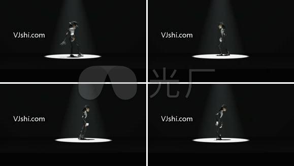 迈克尔杰克逊 3D舞蹈动画